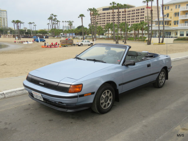 1989 Toyota Celica Gt 5 Sd Convertible 30k Miles New Engine Paint Top
