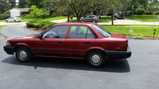 1989 Toyota Corolla Dx Sedan 4