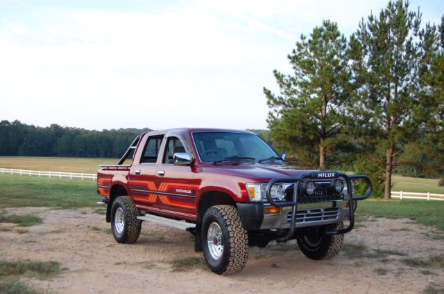 1989 toyota hilux ssr doublecab diesel pickup truck not tacoma land cruiser for sale photos. Black Bedroom Furniture Sets. Home Design Ideas