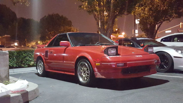 1989 Toyota MR2 Supercharged