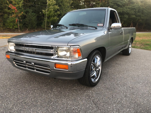 1989 Toyota Pickup Truck Rn85l 22r Single Cab Long Bed 4x2 For Sale