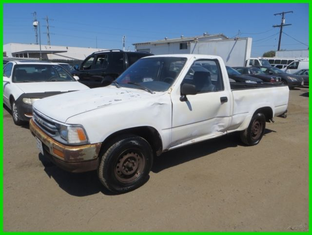 1989 Toyota Other Base Standard Cab Pickup 2-Door
