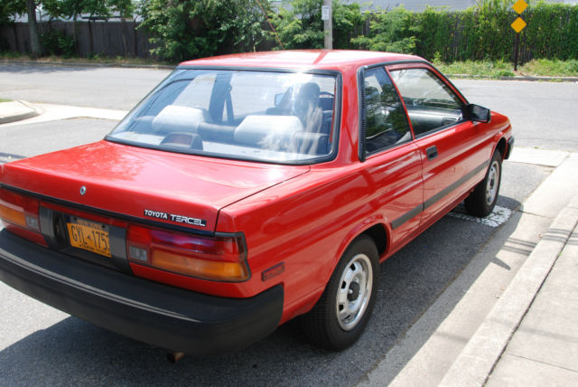 1989 toyota tercel dx sedan 2 door 1 5l for sale photos. Black Bedroom Furniture Sets. Home Design Ideas
