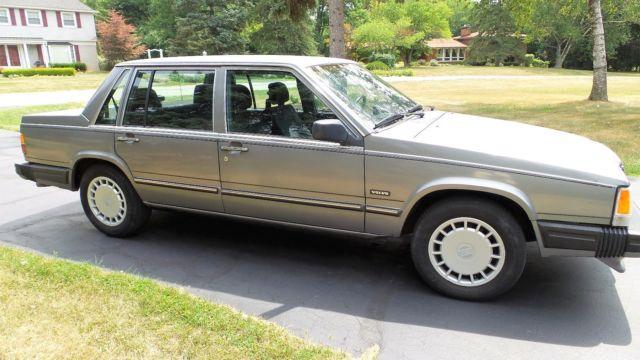 1989 Volvo 740 Gl  Please Read Carefully  For Sale  Photos