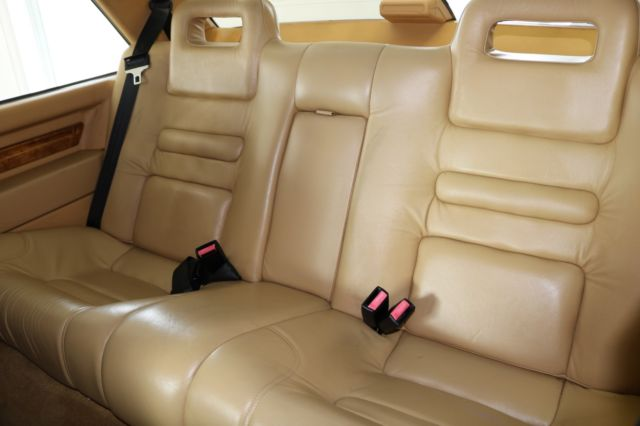 1989 Black Volvo 780 Coupe with Tan interior