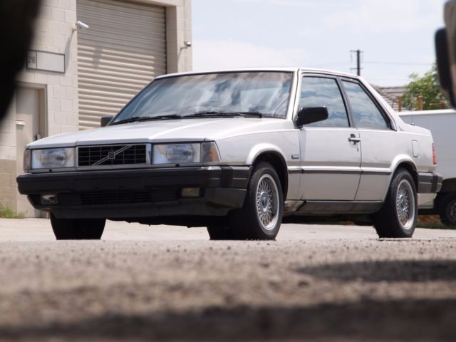 1989 Volvo 780 GLE Turbo Rare Coupe Collectible Low Miles Barnyard Find