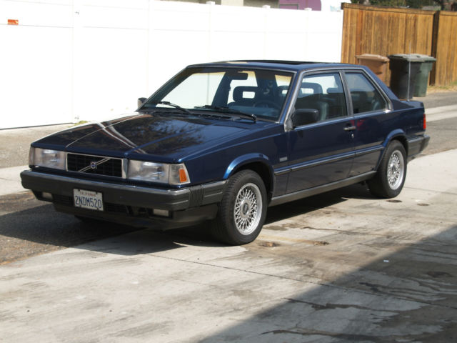 1989 Volvo 780 GLE Turbo