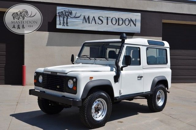 1989 Land Rover Defender left hand drive restored diesel