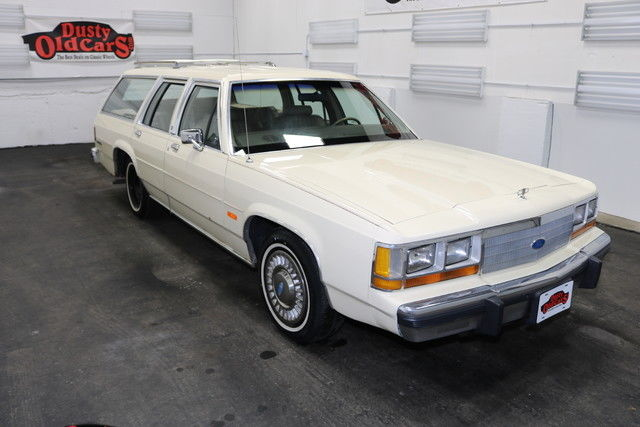 1989 Ford Crown Victoria Runs Drives Body Int VGood 5LV8 4 spd auto