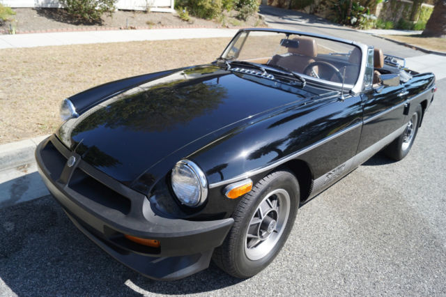 1980 MG MGB Black