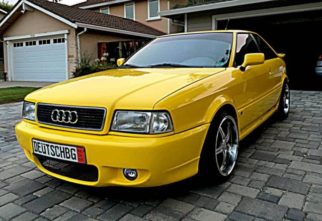 1990 Audi Quattro Coupe for sale: photos, technical