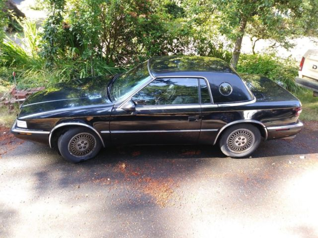 1990 Chrysler TC by Maserati Black
