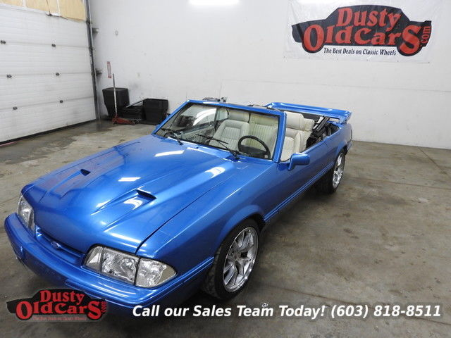 1990 Ford Mustang Runs Body Inter Good 5.0L V8 4 Speed Auto