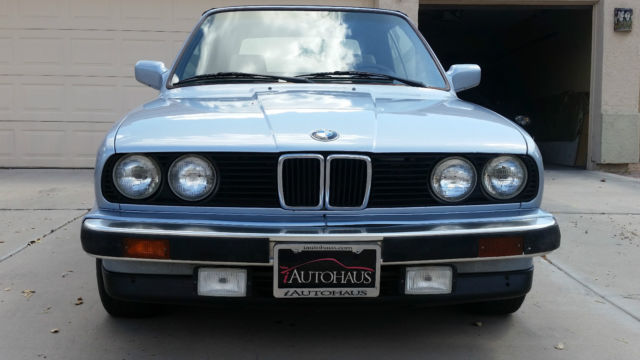 1990 BMW 3-Series 325i cabriolet   *** NO RESERVE ***