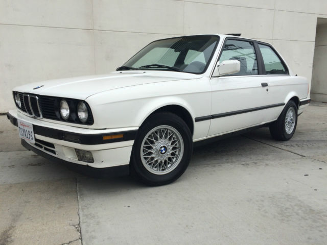 1990 BMW 325i E30 for sale: photos, technical specifications