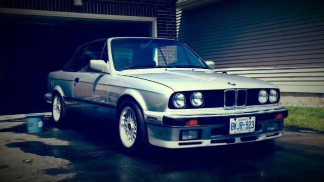 1990 bmw 325ic e30 convertible with m30b35 engine swap for. Black Bedroom Furniture Sets. Home Design Ideas