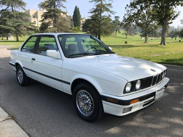 1990 Bmw E30 325i Coupe Alpine White 1 Owner Clean Title For