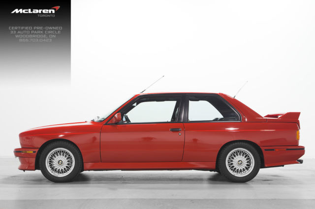 1990 BMW E30 M3 RED MINT for sale photos technical