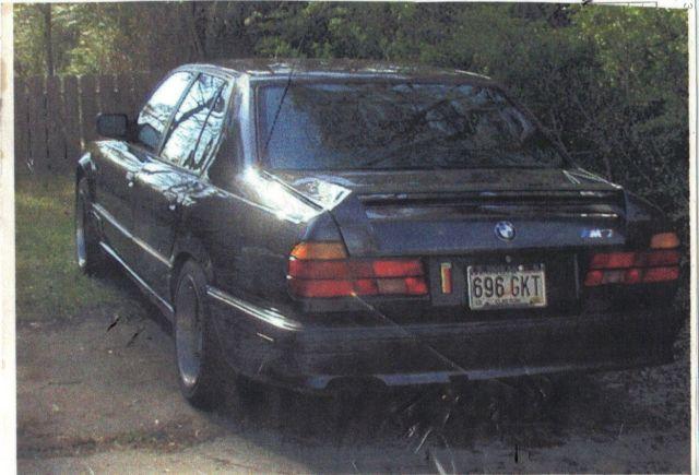 1990 BMW M7 Prototype 735i