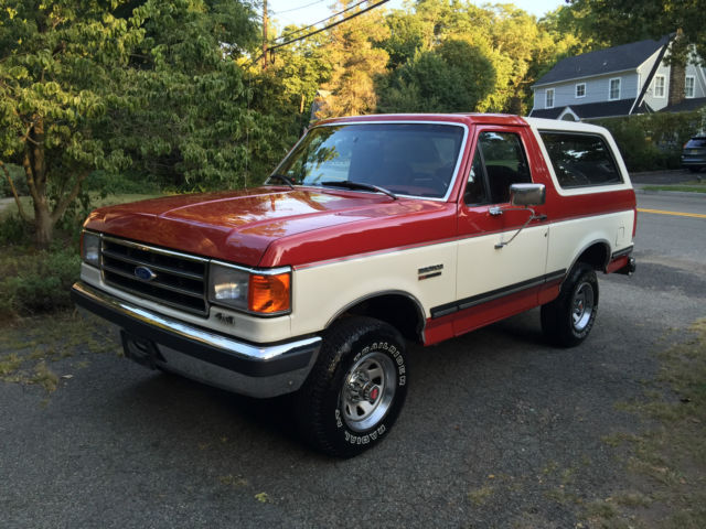1990 Ford Bronco XLT  89k Actual Miles!  Original Paint Survivor!