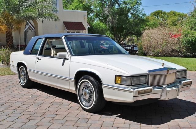 1990 Cadillac DeVille Coupe w/ Only 71k Original Miles Simply Stunning