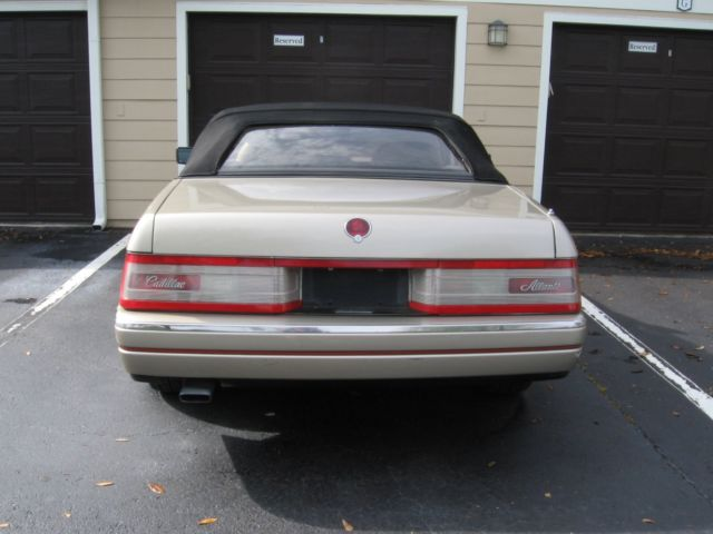 1990 Cadillac Allante  2 Door Convertible for sale photos