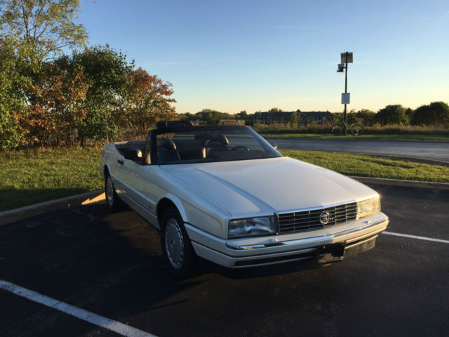 1990 Cadillac Allante Base Convertible 2-Door