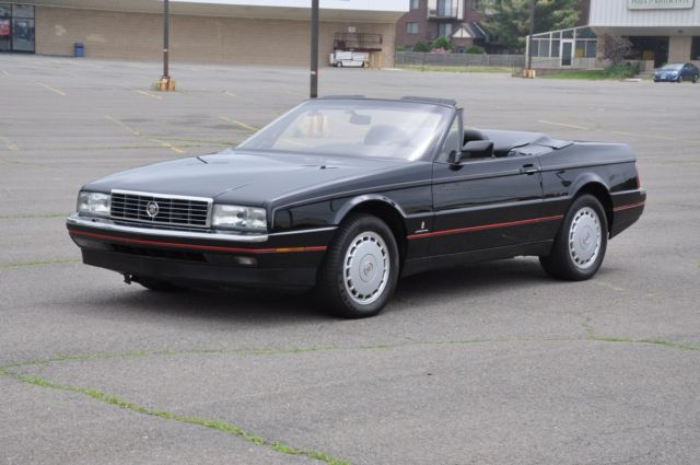 1990 Cadillac Allante 90 Cadillac Allante Convertible No Reserve Loaded