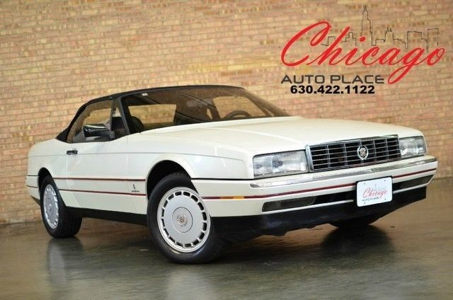 1990 Cadillac Allante COLLECTOR CAR - CONVERTIBLE - LEATHER - US DEALER