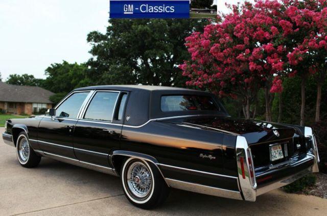 Cadillac Fleetwood Brougham Delegance As New Gm Museum Car