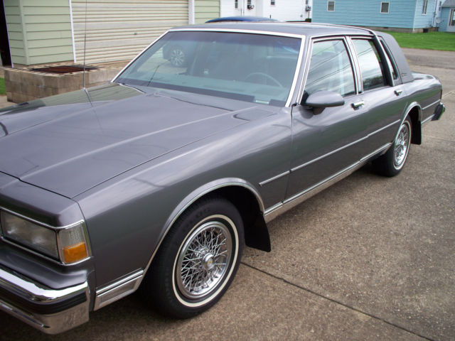 1990 chevrolet caprice classic brougham ls for sale photos technical specifications description topclassiccarsforsale com