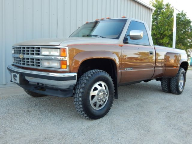 1990 Chevy 3500 Regular Cab Dually Fuel Injected 454 Big