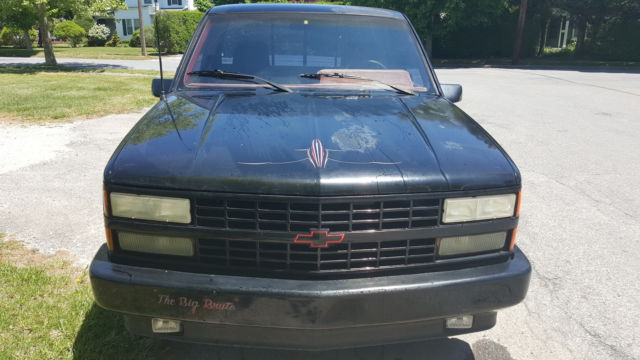 1990 Chevy C1500 454SS - LOW MILEAGE BARN FIND for sale: photos