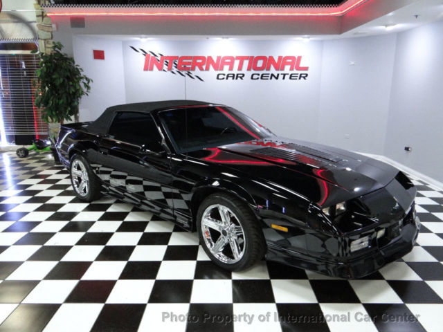 1990 chevy camaro z28 iroc z convertible 1 of 1 294 only 54k miles immaculate for sale photos technical specifications description topclassiccarsforsale com