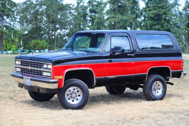 1990 Chevy K5 Blazer 95k  Orig Miles Rust Free All