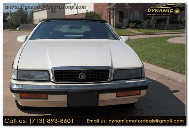 1990 Chrysler LeBaron GTC BY MASERATI