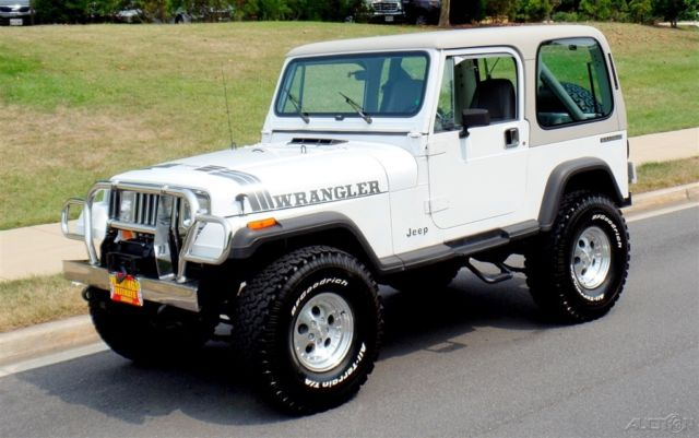 1990 Jeep Wrangler Convertible with Hardtop