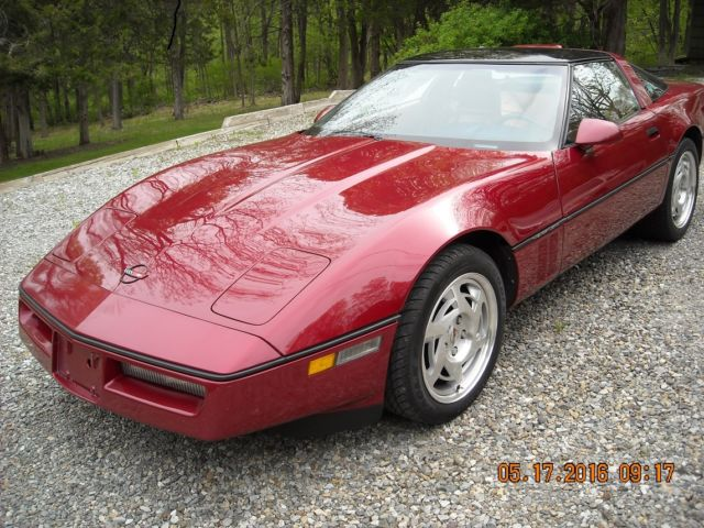 1990 Corvette Coupe L98 with 6 Speed Trans  for sale: photos