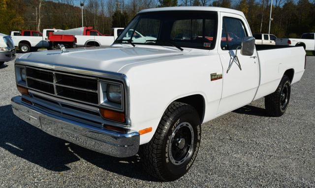 1990 dodge d250 power ram 1st generation 12 valve cummins diesel no rust for sale photos. Black Bedroom Furniture Sets. Home Design Ideas