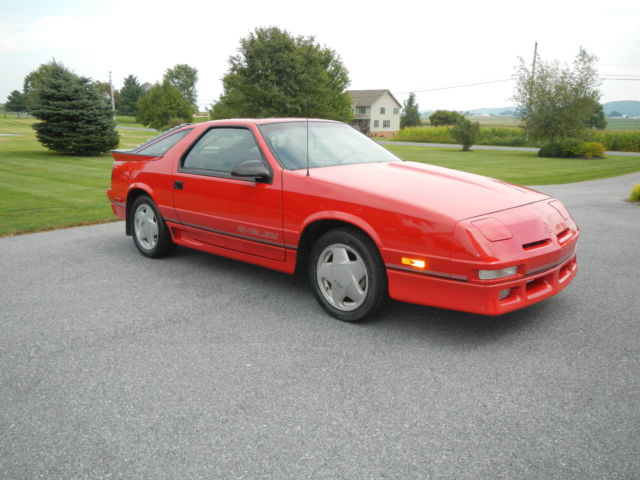 1990 Dodge Daytona Shelby Hatchback 2-Door