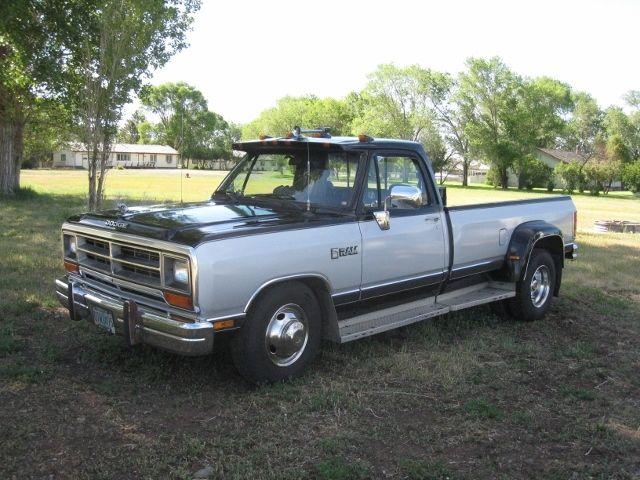 1990 dodge le 350 turbo diesel dually pickup for sale. Black Bedroom Furniture Sets. Home Design Ideas