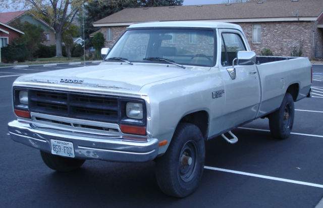 1990 Dodge Other Pickups Power Ram