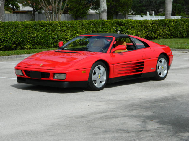 1990 Ferrari 348 ONE OWNER FROM NEW 348 TS WITH ALL DOCUMENTATION
