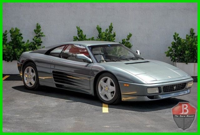 1990 Ferrari 348 RARE HARD TOP COUPE 348TB FINISHED IN GRIGIO MET