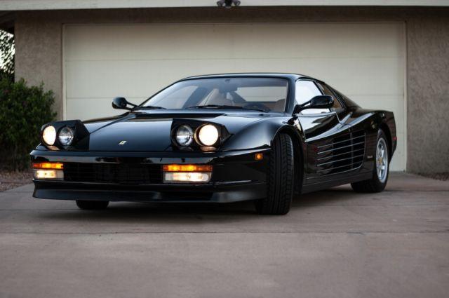 Carfax Used Car >> 1990 Ferrari Testarossa, Nero/Crema, Clean Carfax ...