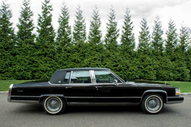 1990 Cadillac Brougham 4 Door Sedan