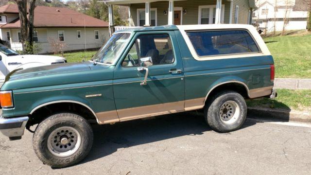 Ford Bronco Eddie Bauer Suv For Sale