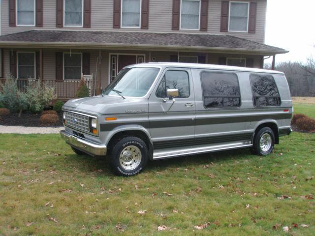 1990 Ford E 150 Conversion Van 66000 Mi Pristine 100 Orig Cond Like New