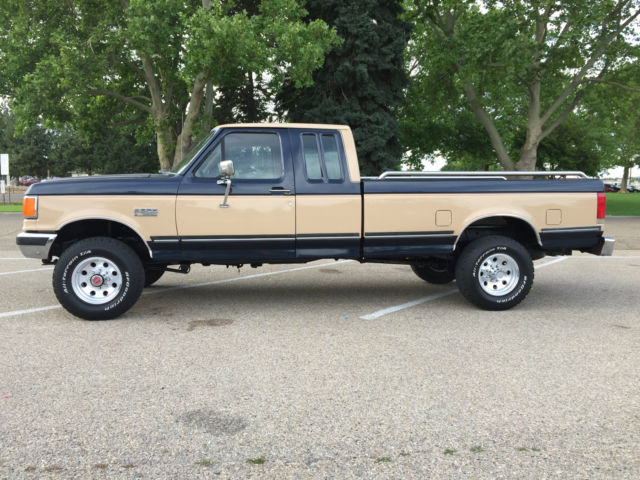 1990 ford f 250 4x4 extracab xlt lariat for sale photos technical specifications description. Black Bedroom Furniture Sets. Home Design Ideas