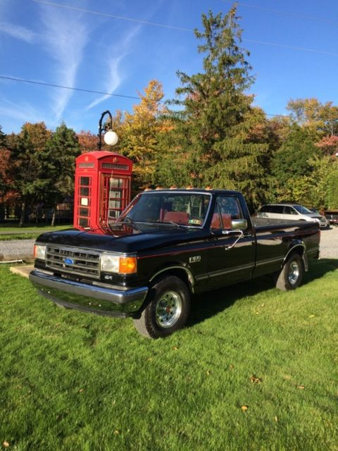 1990 ford f150 xlt lariat 2wd with 8 39 bed must see for sale photos technical specifications. Black Bedroom Furniture Sets. Home Design Ideas